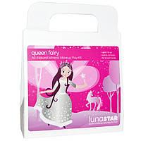 Luna Star Naturals, Игровой набор, минеральный макияж из натуральных компонентов, Queen Fairy, 4 штуки