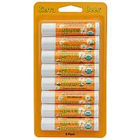Sierra Bees, Органические бальзамы для губ, Мед, 8 штук, каждый по 0,15 унции (4,25 г)