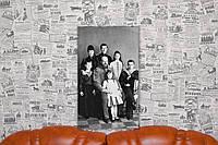 """Фото на холсте """"Александр III с семьей"""" 30х50 см."""