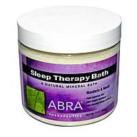 Abra Therapeutics, Терапия сна для ванн, мандарин и нероли 17 унции (482 г)