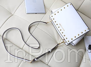 Сумка Michael Kors Selma Mini White, фото 3