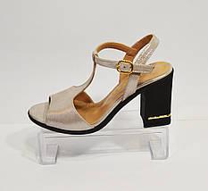 Женские кожаные босоножки Phany, фото 2