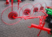 Грабли-ворошилка Z-510 4-колёсные Польша