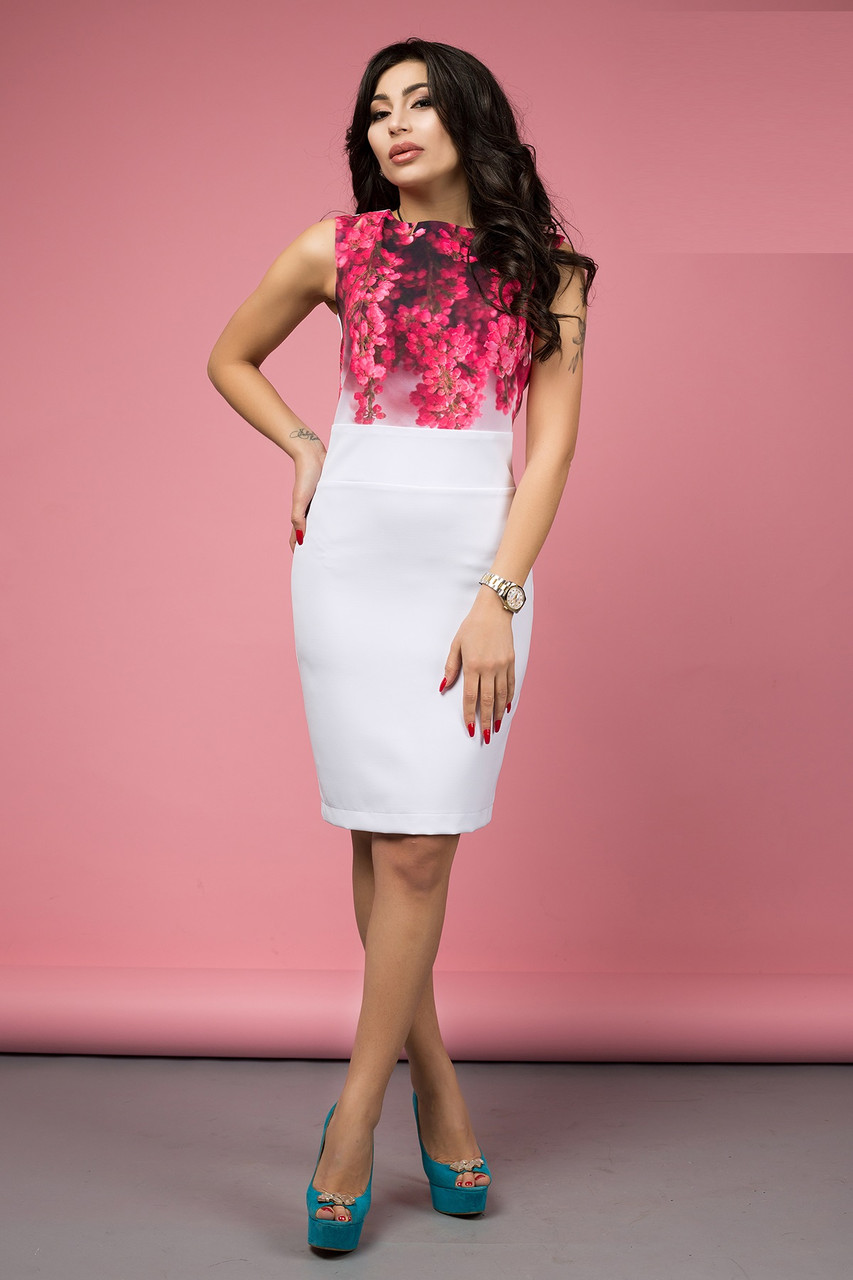 Женское платье облегающее Lyuchiya 42–50р. в расцветках