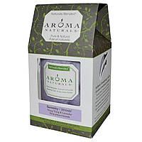 Aroma Naturals, Натуральная смесь, столовая свеча, безмятежность, иланг-иланга и лаванда, 3 х 3,5