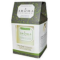 Aroma Naturals, Столовая свеча с натуральными смесями, успокаивающий перламутр, с апельсином, гвоздикой и корицей, 7,6 x 8,9 см