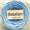 Ленточная пряжа Бобилон, цвет небесно-голубой