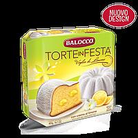 Пасхальный тортик Balocco Torte in Festa с лимонным кремом, 400 г.