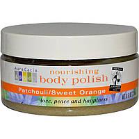 Aura Cacia, Питательный скраб для тела, пачули/сладкий апельсин, 236 мл