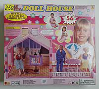 Игрушечный дом для Барби и Кена