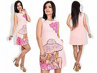 """Платье """"Девушка"""" в расцветках 18408, фото 1"""