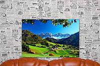 "Картина на холсте ""Фунес. Коммуна. Италия. Природа"".  60х40 см."