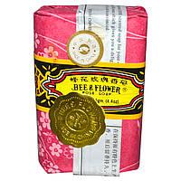 Bee & Flower, Мыло с ароматом розы, 4,4 унции (125 г)