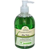 Clearly Natural, Основа, глицериновое мыло для рук, алоэ вера, 354 мл (12 жидких унций)