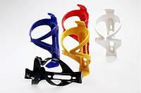Флягодержатель велосипедный пластмассовый глянцевый