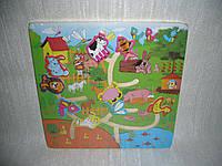 Деревянные игрушки лабиринт бродилка Ферма