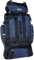 Туристический практичный мужской рюкзак 50 л. Sports fashion R50192 темно-синий