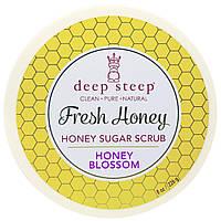 Deep Steep, Свежий мед, сахарный скраб, медовый букет, 8 унций (226 г)