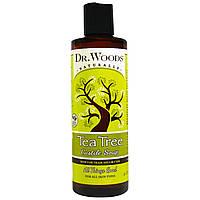 Dr. Woods, Чайное дерево, кастильское мыло, 8 жидких унций (236 мл)