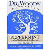 Dr. Woods, Кастильское мыло с перечной мятой, 5.25 унций (149 г)