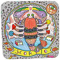 European Soaps, LLC, Пре-де-Прованс, мыло из коллекции Зодиак, Скорпион, 3,5 унции (100 г)