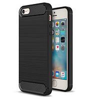 Противоударный бампер PRIMO Carbon Fiber Series для Apple iPhone 5/5S/5SE