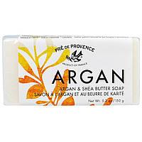 European Soaps, LLC, Пре-де-Прованс, мыло с маслом аргана и дерева ши, 5,2 унции (150 г)