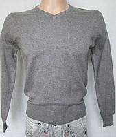Пуловер серый подростковый. Италия