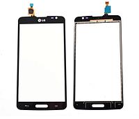 Тачскрин / сенсор (сенсорное стекло) для LG G Pro Lite D680 | D682 | D684 (черный цвет)