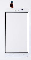 Тачскрин / сенсор (сенсорное стекло) для LG G Pro Lite D680 | D682 | D684 (белый цвет)