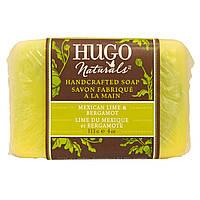 Hugo Naturals, Мыло ручной работы, мексиканский лайм и бергамот, 4 унции (113 г)