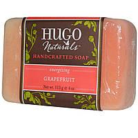 Hugo Naturals, Мыло ручной работы, грейпфрут, 4 унции (113 г)
