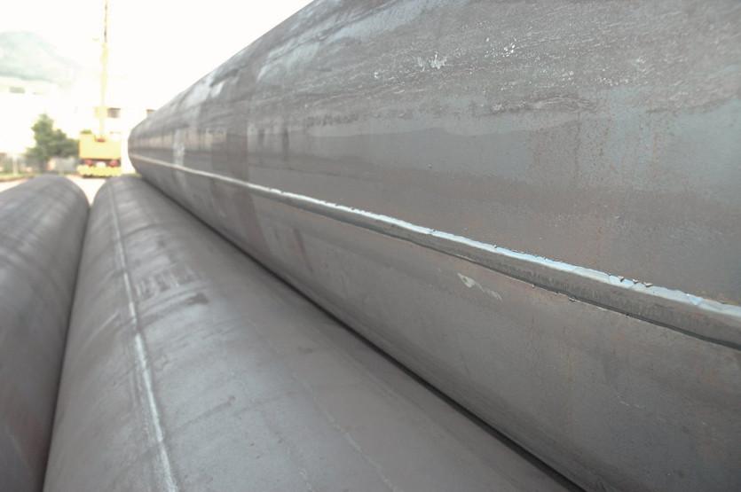 Прямошовные сварные стальные магистральные трубы / фото Prom.ua