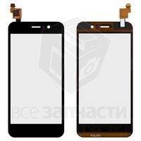 Тачскрин (сенсор) для мобильного телефона Jiayu G4S, черный