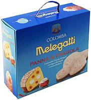 Панеттон Melegatti Colomba Panna Fragola со сливками и клубничным кремом, 750 г.