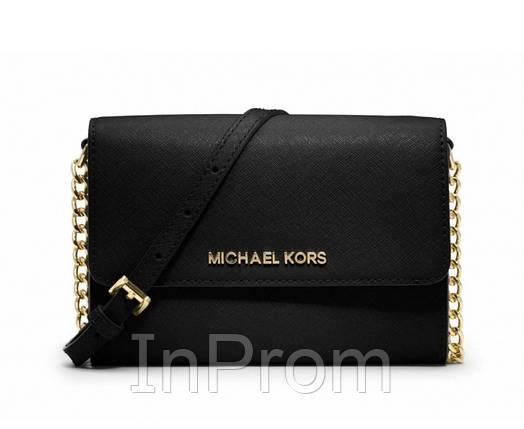 Cумка Michael Kors Et Set Travel Saffiano Black, фото 2