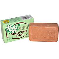 Monoi Tiare Tahiti, Мыло с кокосовым маслом, аромат кокоса, 130 г