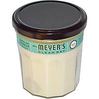 Mrs. Meyers Clean Day, Ароматическая соевая свеча, аромат базилика, 7.2 унций