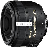 Объектив Nikkor AF-S 50mm f/ 1.4G Nikon (JAA014DA)