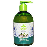 Natures Gate, Liquid Soap, Velvet Moisture, Tea Tree, 12.5 oz