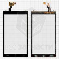 Тачскрин (сенсор) для мобильного телефона Jiayu G3S черный
