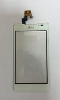 Тачскрин / сенсор (сенсорное стекло) для LG Optimus 3D Max P720 | P725 (белый цвет)