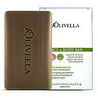 Olivella, Твердое мыло для лица и тела, 150 г