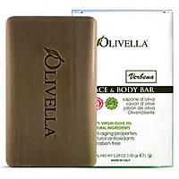 Olivella, Мыло для лица и тела, вербена, 150 г (5,29 унций)