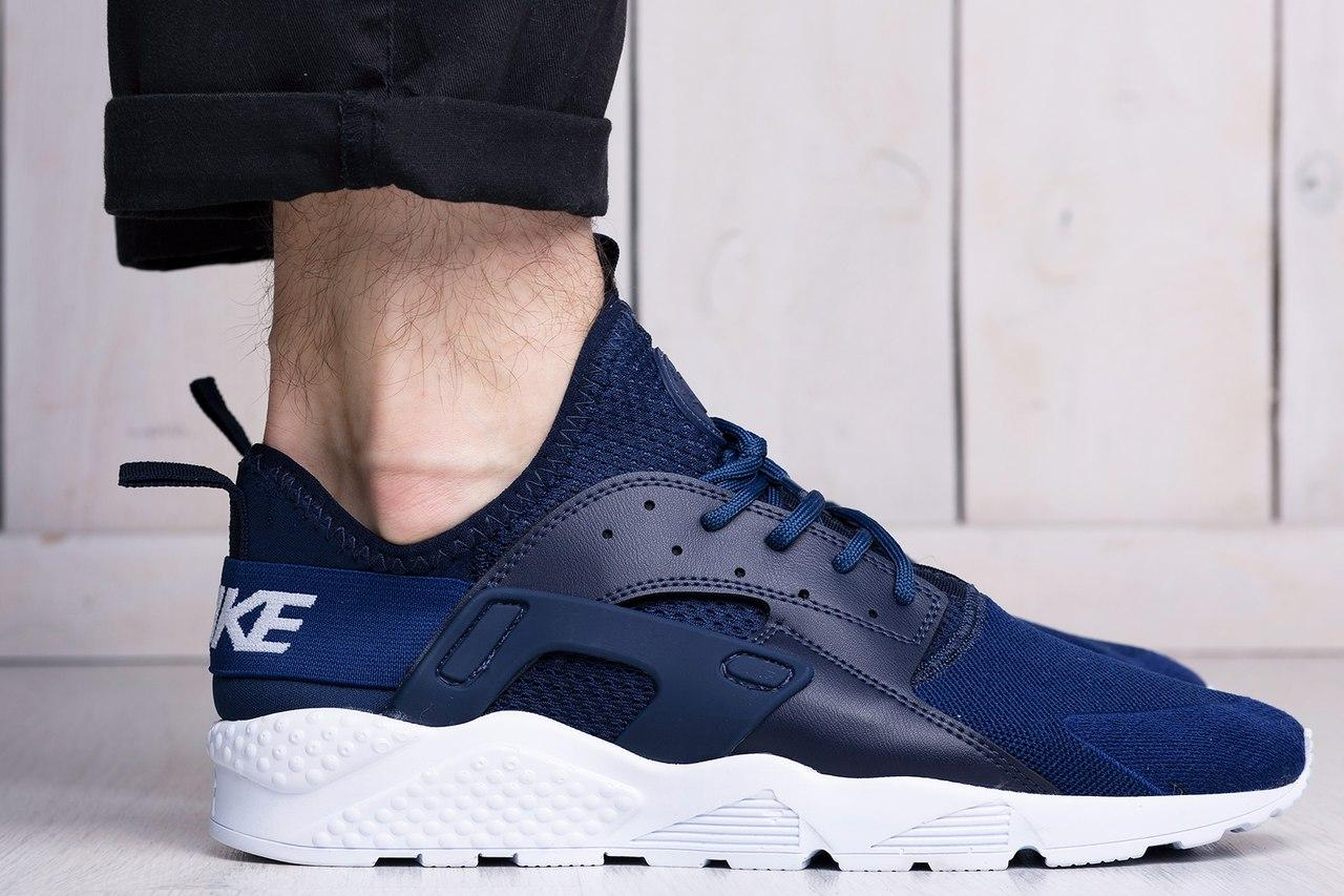 bc0e27da Мужские кроссовки Nike Air Huarache Ultra Blue (найк хуарачи, реплика)  (реплика)
