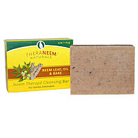 Organix South, TheraNeem Organix, Neem Therap Cleansing Bar, Neem Leaf, Oil & Bark, 4 oz (113 g)