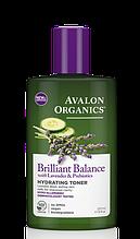 Avalon Organics Увлажняющий тоник с экстрактами лаванды, огурца и пребиотиками