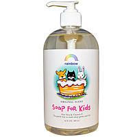 Rainbow Research, Мыло для детей, оригинальный аромат, 16 жидк. унц. (480 мл)