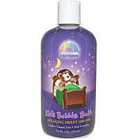Rainbow Research, Sweet Dreams, сладкие сны, детская пена для ванной, 12 жидких унций (360 мл)