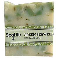 My Spa Life, Квадратное мыло ручной работы, Зеленые водоросли, 100 г